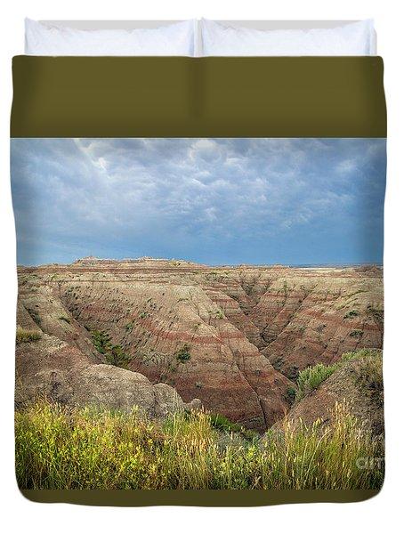 Badland Ravine Duvet Cover