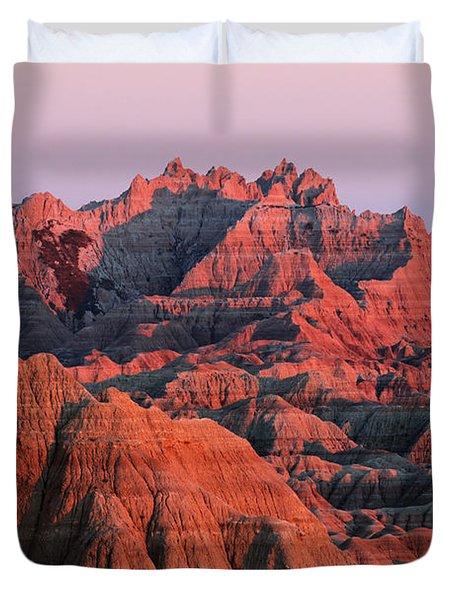 Badlands Dreaming Duvet Cover