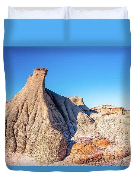 Badlands Formations Duvet Cover