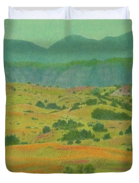 Badlands Grandeur Duvet Cover
