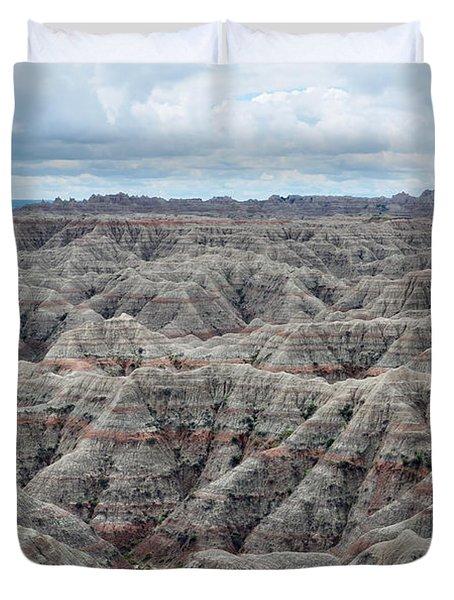 Badlands National Park Duvet Cover