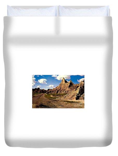 Badlands National Park  Duvet Cover by Ruth  Housley