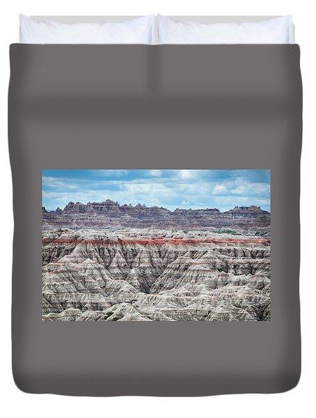 Badlands National Park Vista Duvet Cover