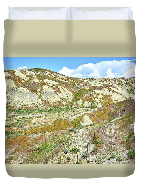 Badlands Of Wyoming Duvet Cover
