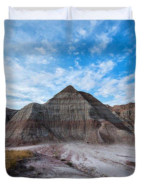 Badlands Pyramid  Duvet Cover
