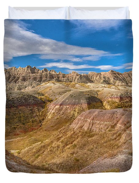 Badlands South Dakota Duvet Cover