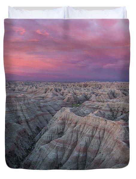 Badlands Sunrise Duvet Cover