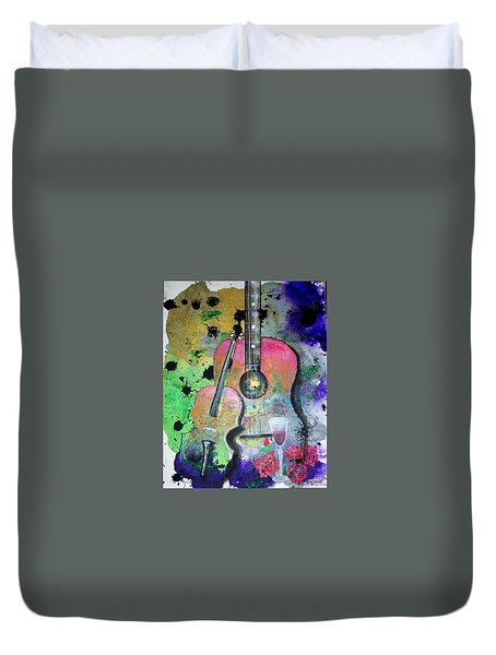 Badmusic Duvet Cover