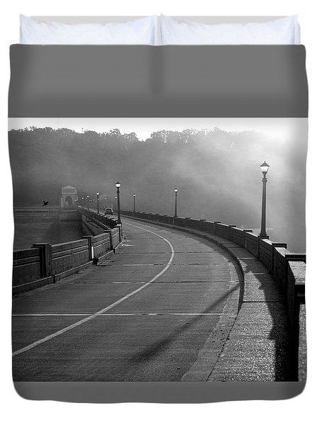 Bagnell Dam Duvet Cover