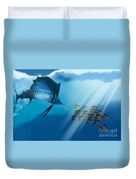 Bahama Beauty Duvet Cover by Corey Ford