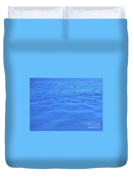 Bahama Blue Duvet Cover