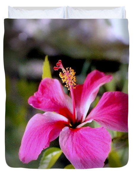 Bahamian Flower Duvet Cover