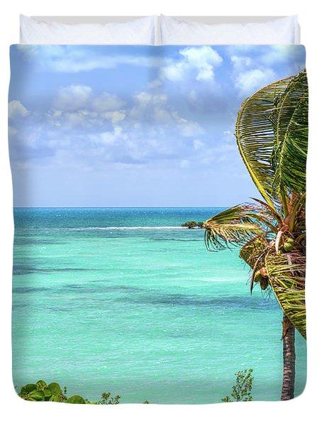 Bahia Honda State Park Atlantic View Duvet Cover