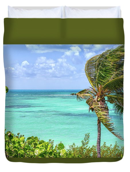 Bahia Honda State Park Atlantic View Duvet Cover