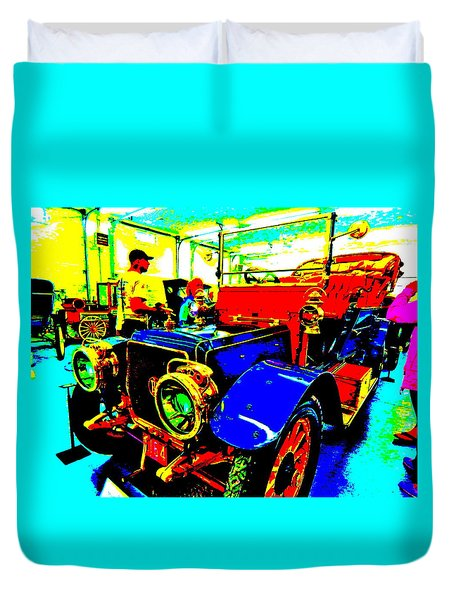 Bahre Car Show II 1 Duvet Cover