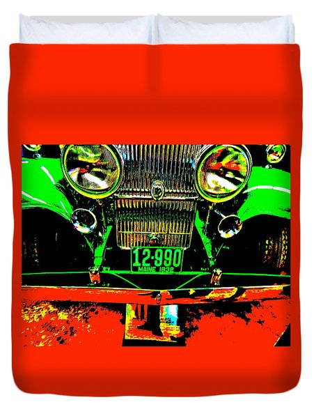 Bahre Car Show II 21 Duvet Cover