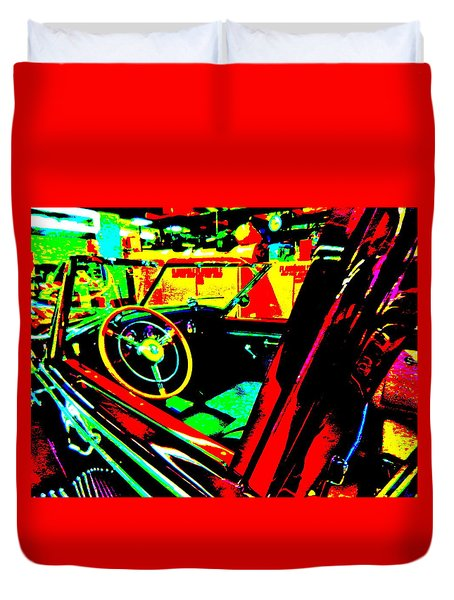 Bahre Car Show II 29 Duvet Cover