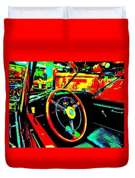Bahre Car Show II 30 Duvet Cover
