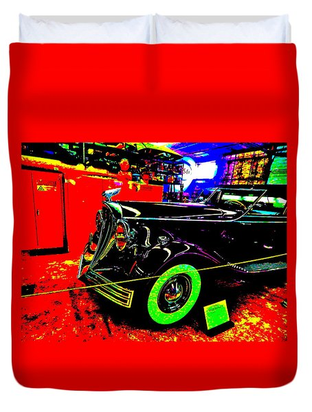 Bahre Car Show II 32 Duvet Cover
