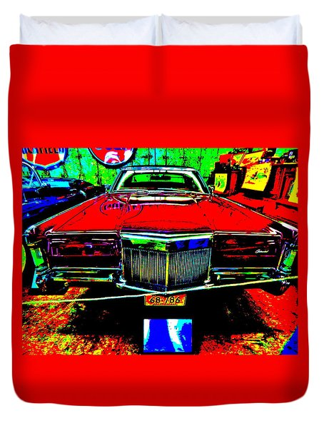 Bahre Car Show II 38 Duvet Cover