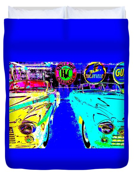 Bahre Car Show II 40 Duvet Cover