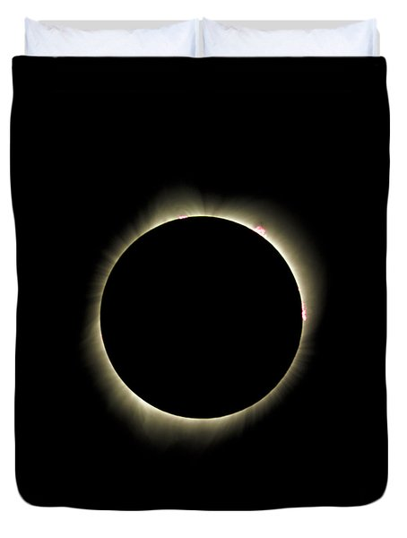 Bailys Beads - 2017 Total Solar Eclipse Duvet Cover