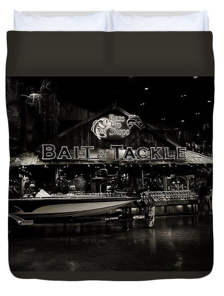 Bait And Tackle Duvet Cover