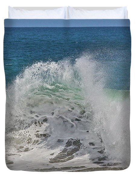 Baja Wave Duvet Cover
