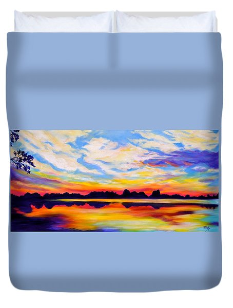 Baker's Sunset Duvet Cover