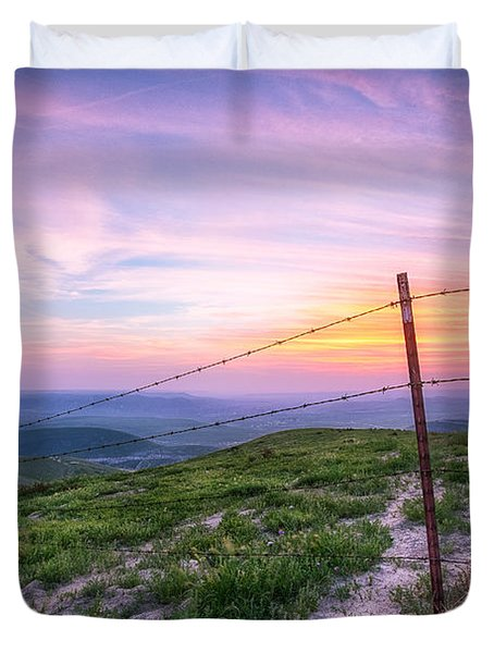 Bakersfield Hills  Duvet Cover