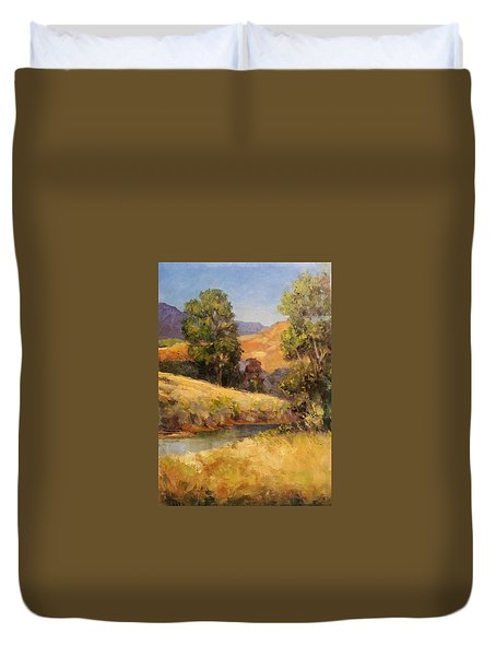 Bakesfield Creek Afternoon Duvet Cover