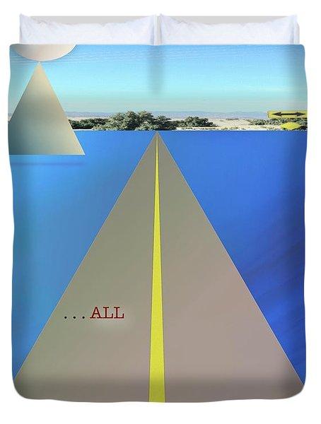 Balance All Duvet Cover by Jack Eadon