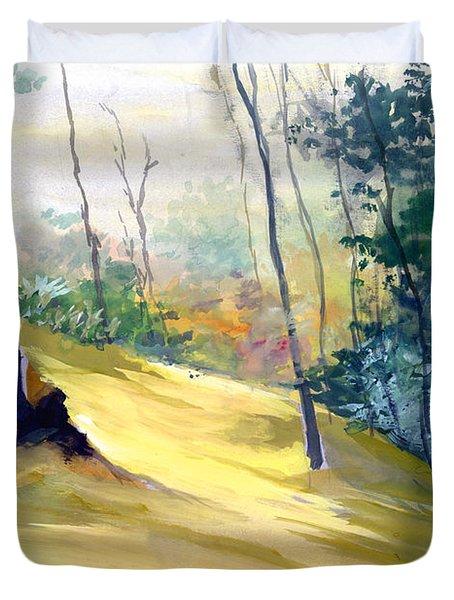 Balance Duvet Cover by Anil Nene