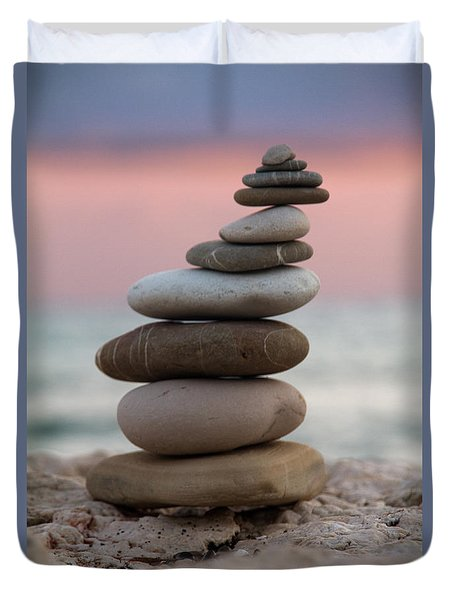Balance Duvet Cover by Stelios Kleanthous