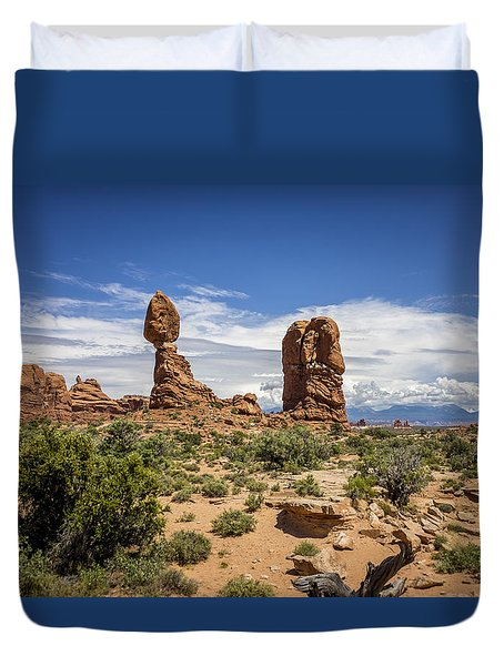 Balanced Rock Duvet Cover