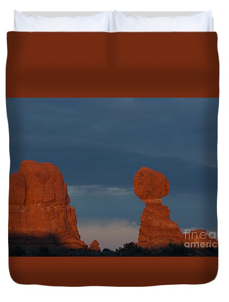 Balanced Rock Duvet Cover
