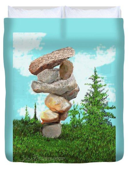 Balanced Rocks #6 Duvet Cover
