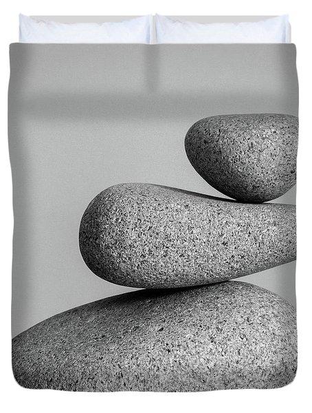 Balancing Act Duvet Cover