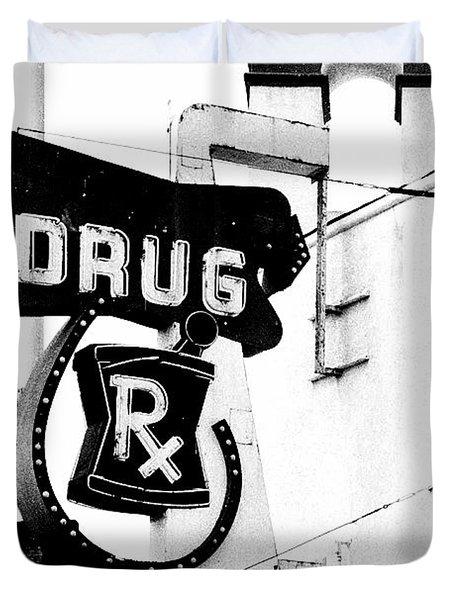 Balboa Drug Duvet Cover by Rosanne Nitti