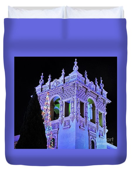 Balboa Park December Nights Celebration Details Duvet Cover