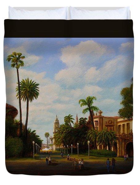 Balboa Park Duvet Cover