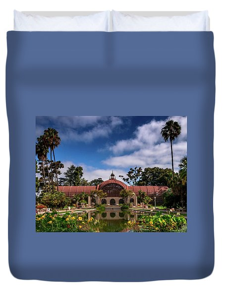 Balboa Park Duvet Cover by Martina Thompson