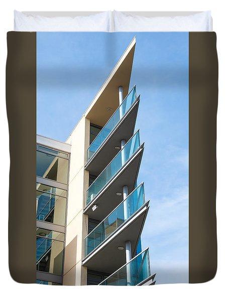 Balconies Duvet Cover