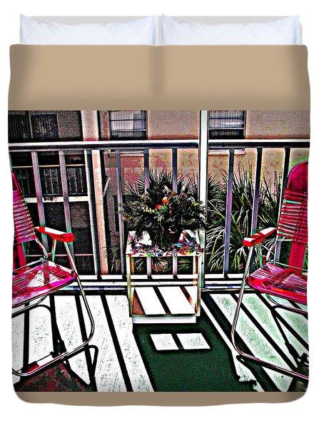 Balcony Duvet Cover