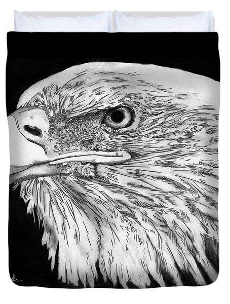 Bald Eagle #4 Duvet Cover by Bill Richards
