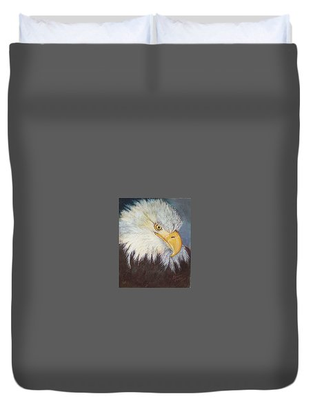 Bald Eagle Duvet Cover