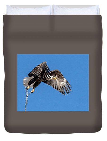 Bald Eagle Flight 3 Duvet Cover