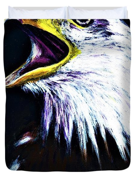 Bald Eagle - Francis -audubon Duvet Cover