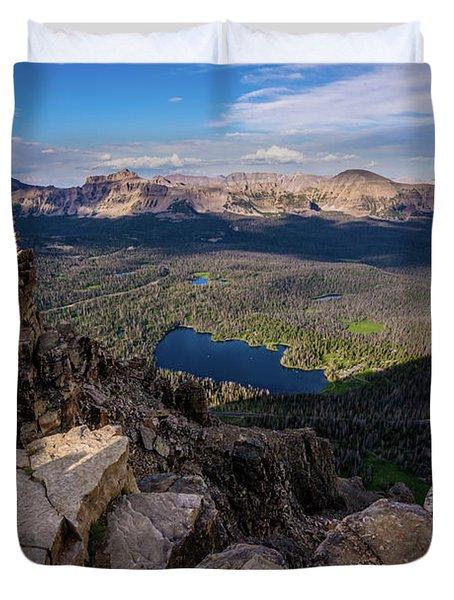 Bald Mountain - Mirror Lake - Uinta Mountains - Utah Duvet Cover