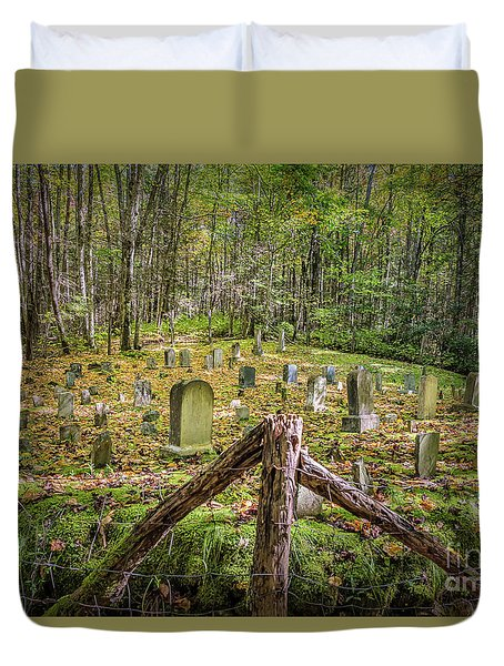 Bales Cemetery Duvet Cover